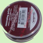 burgundy renovating polish