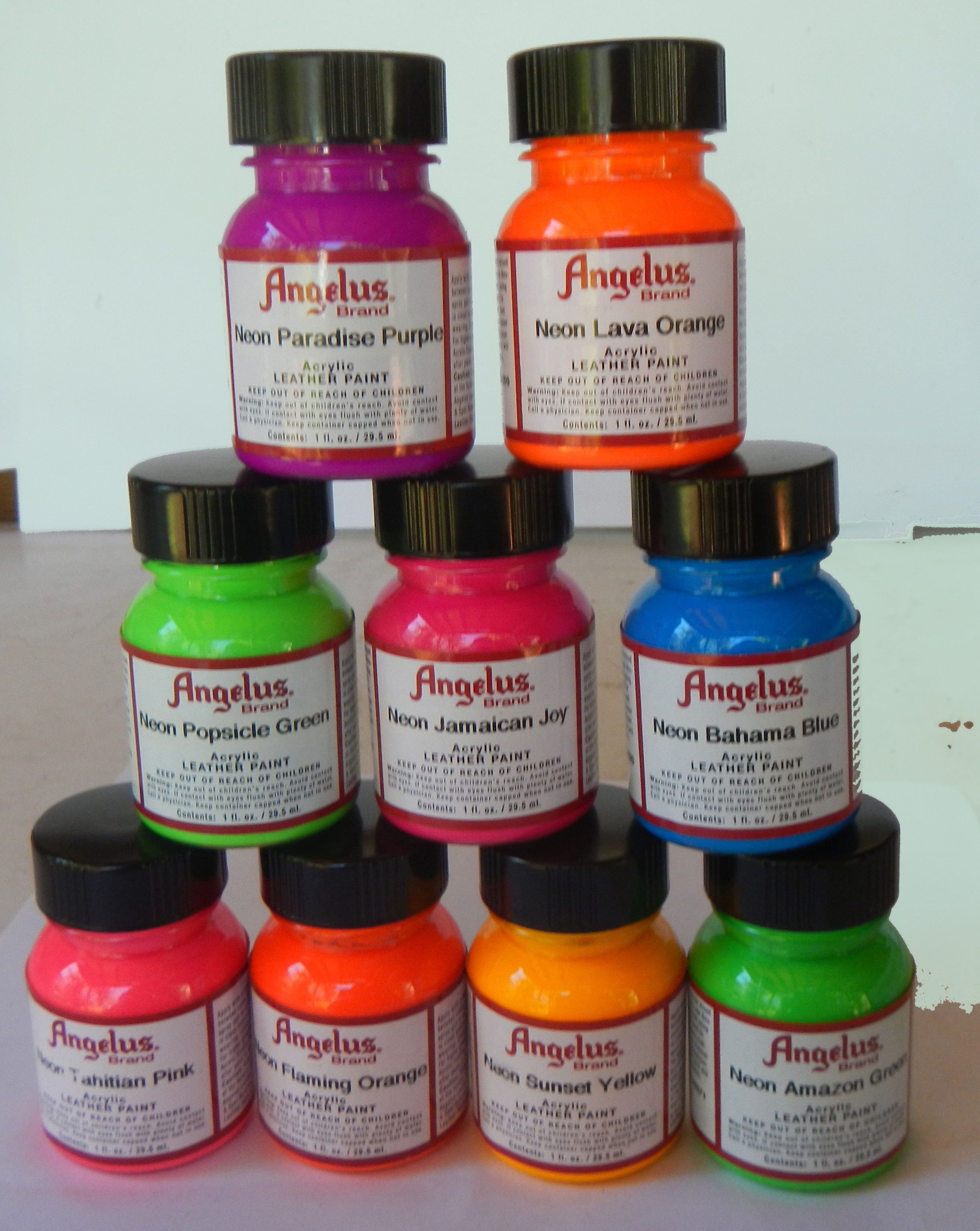 Acrylic Paint Suede Shoes